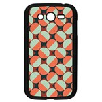 Modernist Geometric Tiles Samsung Galaxy Grand DUOS I9082 Case (Black) Front