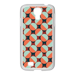 Modernist Geometric Tiles Samsung GALAXY S4 I9500/ I9505 Case (White)