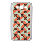 Modernist Geometric Tiles Samsung Galaxy Grand DUOS I9082 Case (White) Front