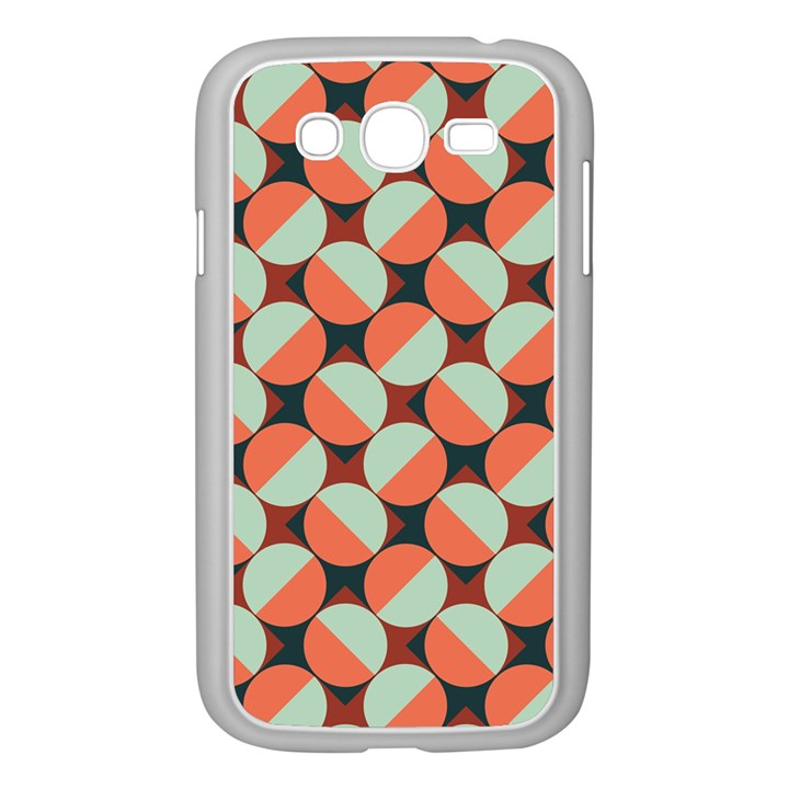Modernist Geometric Tiles Samsung Galaxy Grand DUOS I9082 Case (White)