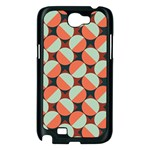 Modernist Geometric Tiles Samsung Galaxy Note 2 Case (Black) Front