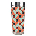 Modernist Geometric Tiles Stainless Steel Travel Tumblers Right