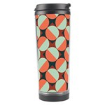 Modernist Geometric Tiles Travel Tumbler Left