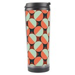 Modernist Geometric Tiles Travel Tumbler Center