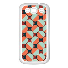 Modernist Geometric Tiles Samsung Galaxy S3 Back Case (White)