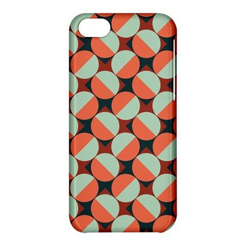 Modernist Geometric Tiles Apple iPhone 5C Hardshell Case