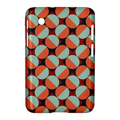 Modernist Geometric Tiles Samsung Galaxy Tab 2 (7 ) P3100 Hardshell Case