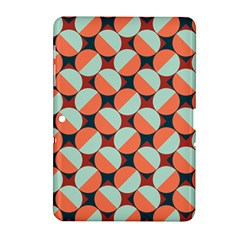 Modernist Geometric Tiles Samsung Galaxy Tab 2 (10 1 ) P5100 Hardshell Case
