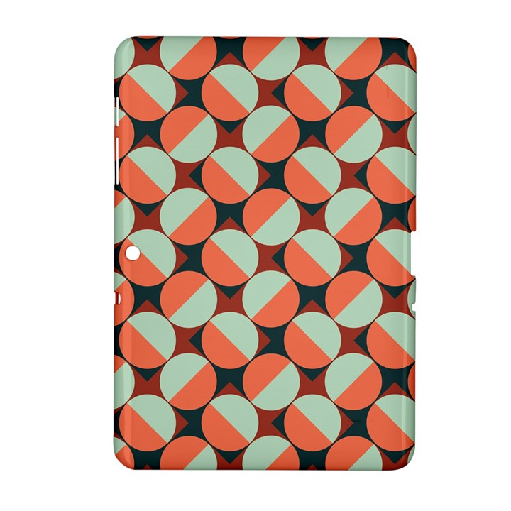Modernist Geometric Tiles Samsung Galaxy Tab 2 (10.1 ) P5100 Hardshell Case