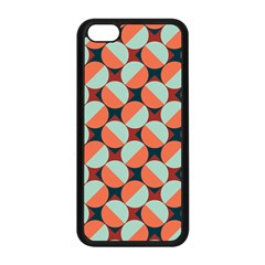 Modernist Geometric Tiles Apple iPhone 5C Seamless Case (Black)