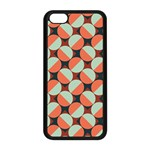 Modernist Geometric Tiles Apple iPhone 5C Seamless Case (Black) Front