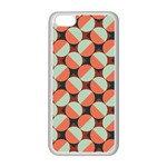 Modernist Geometric Tiles Apple iPhone 5C Seamless Case (White) Front