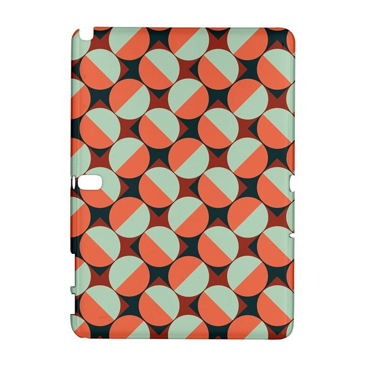 Modernist Geometric Tiles Samsung Galaxy Note 10.1 (P600) Hardshell Case