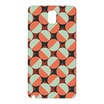 Modernist Geometric Tiles Samsung Galaxy Note 3 N9005 Hardshell Back Case Front