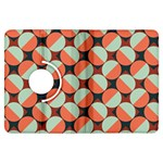 Modernist Geometric Tiles Kindle Fire HDX Flip 360 Case Front
