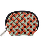 Modernist Geometric Tiles Accessory Pouches (Small)  Front