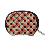 Modernist Geometric Tiles Accessory Pouches (Small)  Back