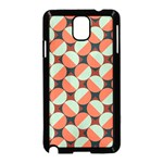 Modernist Geometric Tiles Samsung Galaxy Note 3 Neo Hardshell Case (Black) Front