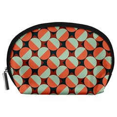 Modernist Geometric Tiles Accessory Pouches (large)