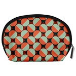 Modernist Geometric Tiles Accessory Pouches (Large)  Back