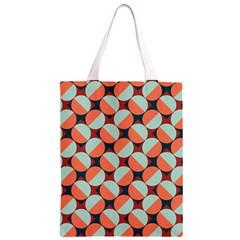 Modernist Geometric Tiles Classic Light Tote Bag