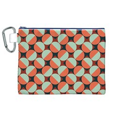 Modernist Geometric Tiles Canvas Cosmetic Bag (XL)