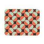 Modernist Geometric Tiles Double Sided Flano Blanket (Mini)  35 x27 Blanket Back