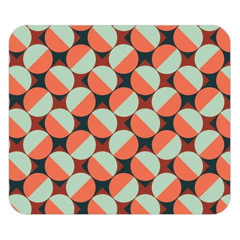 Modernist Geometric Tiles Double Sided Flano Blanket (Small)