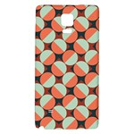 Modernist Geometric Tiles Galaxy Note 4 Back Case Front