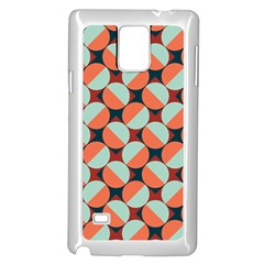 Modernist Geometric Tiles Samsung Galaxy Note 4 Case (White)