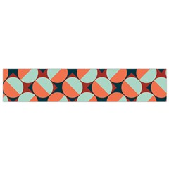 Modernist Geometric Tiles Flano Scarf (small)