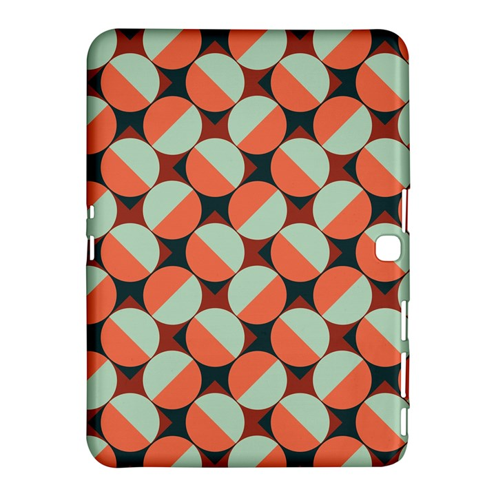 Modernist Geometric Tiles Samsung Galaxy Tab 4 (10.1 ) Hardshell Case