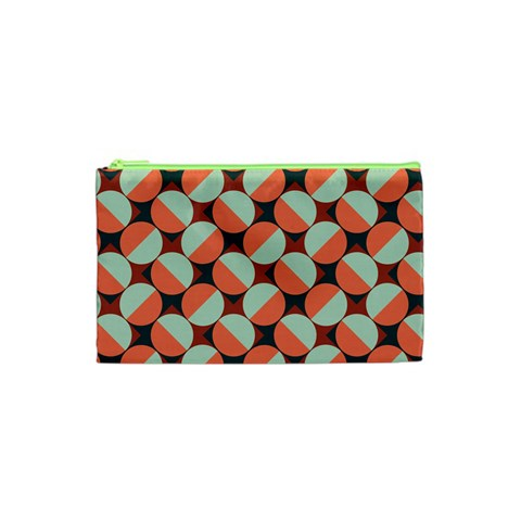 Modernist Geometric Tiles Cosmetic Bag (XS)