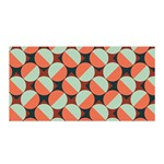 Modernist Geometric Tiles Satin Wrap Front