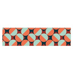 Modernist Geometric Tiles Satin Scarf (Oblong)