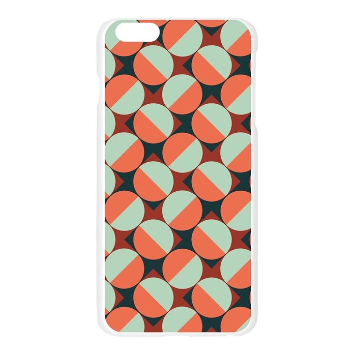 Modernist Geometric Tiles Apple Seamless iPhone 6 Plus/6S Plus Case (Transparent)