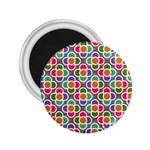 Modernist Floral Tiles 2.25  Magnets Front