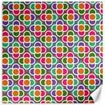 Modernist Floral Tiles Canvas 12  x 12   12 x12 Canvas - 1