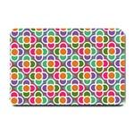Modernist Floral Tiles Small Doormat  24 x16 Door Mat - 1