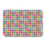 Modernist Floral Tiles Plate Mats 18 x12 Plate Mat - 1