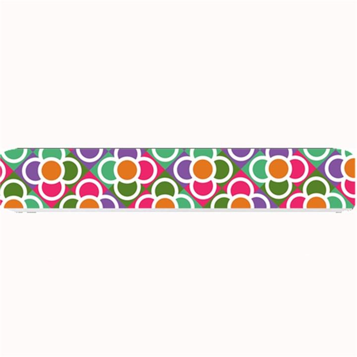Modernist Floral Tiles Small Bar Mats