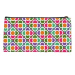 Modernist Floral Tiles Pencil Cases Back