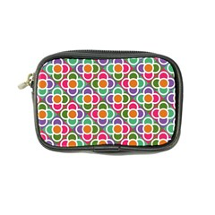 Modernist Floral Tiles Coin Purse