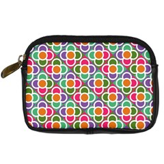 Modernist Floral Tiles Digital Camera Cases