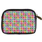 Modernist Floral Tiles Digital Camera Cases Back