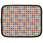Modernist Floral Tiles Netbook Case (XL)  Front