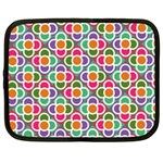 Modernist Floral Tiles Netbook Case (XXL)  Front