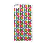 Modernist Floral Tiles Apple iPhone 4 Case (White) Front