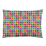 Modernist Floral Tiles Pillow Case (Two Sides) Front