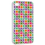 Modernist Floral Tiles Apple iPhone 4/4s Seamless Case (White) Front